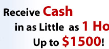 Receive Fast Cash in 1 Hour
